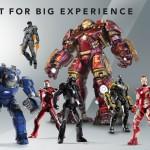 Figurines Iron Man : Comicave enterre la concurrence