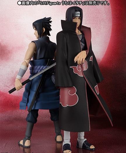 S.H.Figuarts Uchiha Sasuke et S.H.Figuarts Uchiha Itachi