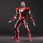 Iron Man par Comicave : figurine Silver Centurion en pré-commande