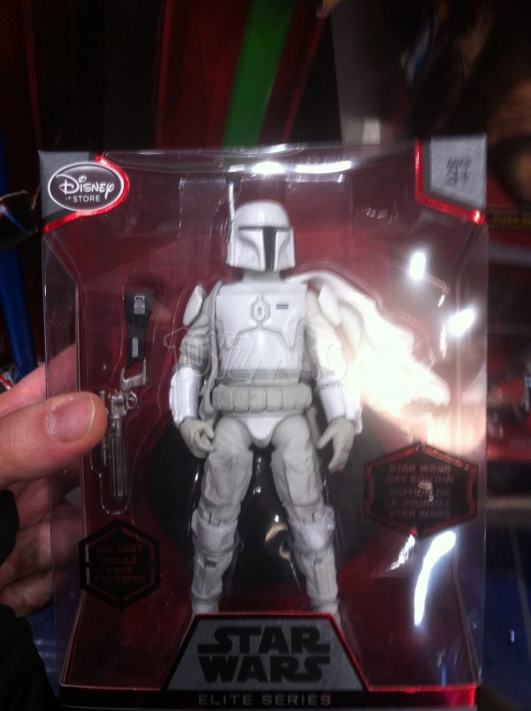 BOBA FETT prototype armor Disneystore Star Wars Elite Series