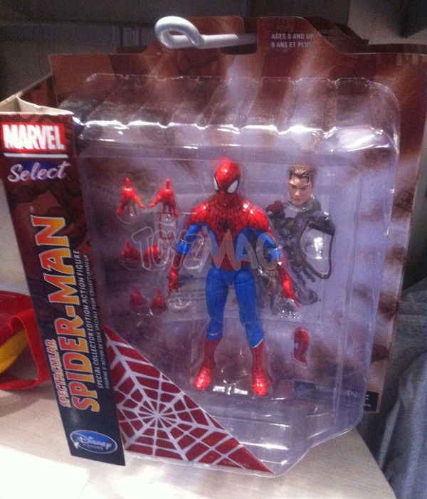 Marvel Select spider-man Exclu Dinsey Store