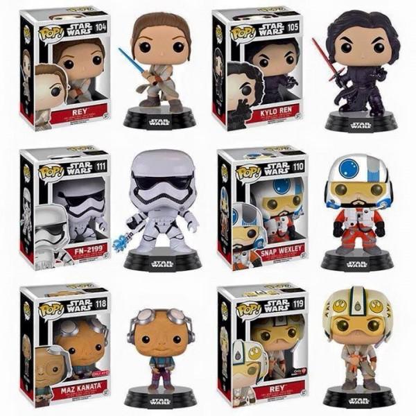 série 3 de sa collection Pop! Vinyl Star Wars Épisode VII le réveil de la Force