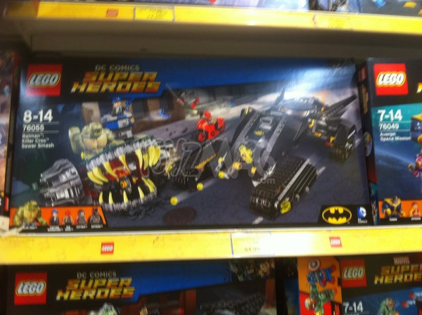 Lego Super Heroes Marvel et DC
