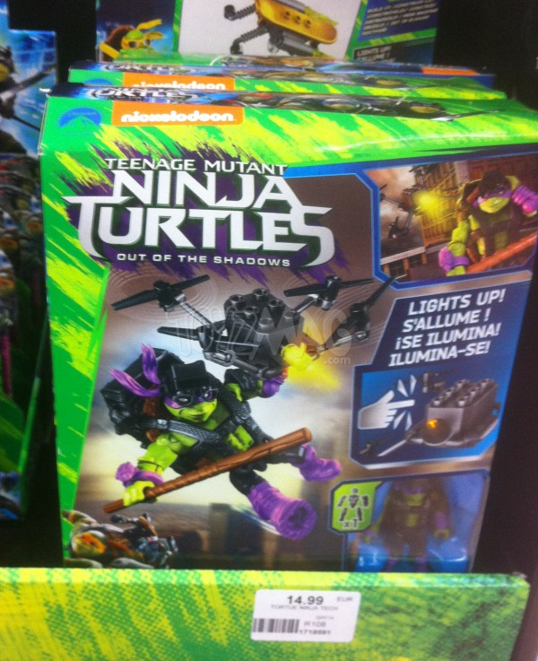 Mega Bloks Ninja Turtles 2 (Teenage Mutant Ninja Turtles: Out of the Shadows)