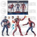 Civil War : un pack de 3 figurines Marvel Legends