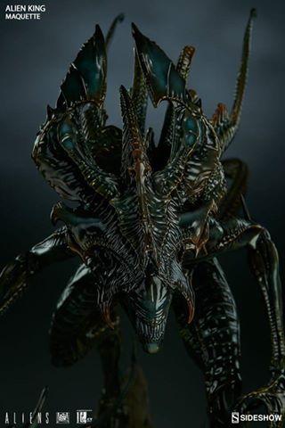 Sideshow: Alien King Maquette
