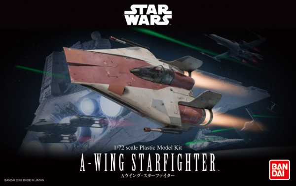 A-Wing Starfighter STAR WARS Bandai model kit