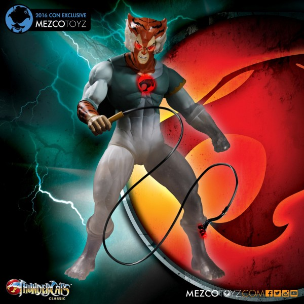 THUNDERCATS PHASING TYGRA CON EXCLUSIVE SDCC 2016
