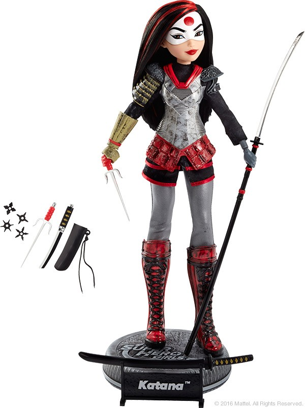 dcc201 DC SUPER HERO GIRLS KATANA exclu SDCC 2016 MATTEL