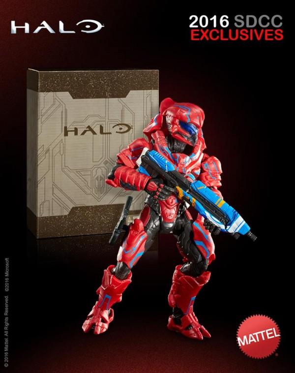 HALO Spartan Helioskrill mattel exclu SDCC2016