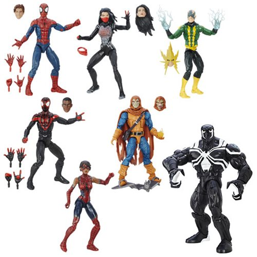 Amazing Spider-Man Marvel Legends Figures Wave 6
