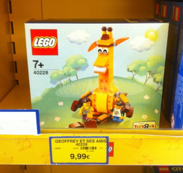LEGO GEOFFREY TOYS R US EXCLU