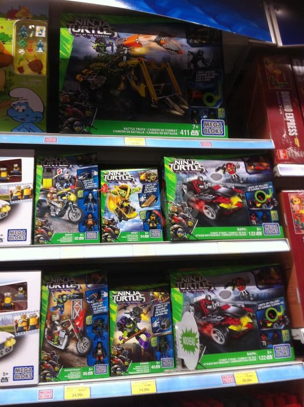Tortues Ninja 2- Mega Bloks