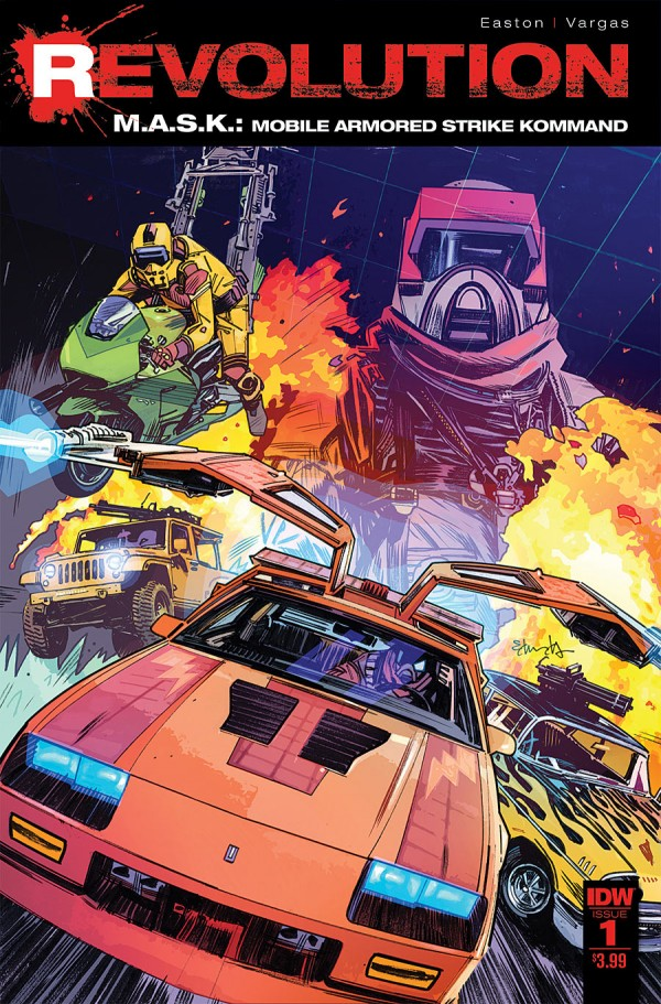 M.A.S.K.: Revolution #1 -- SPOTLIGHT