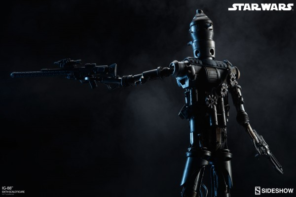 IG-88 - Star Wars par Sideshow Collectibles