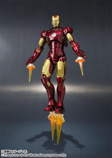 Tamashiinations-Bandai-SHFiguarts-Iron-Man-Mark3-3