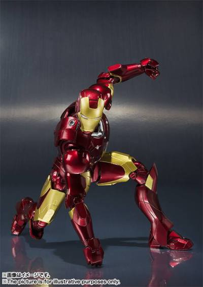 Tamashiinations-Bandai-SHFiguarts-Iron-Man-Mark3-5