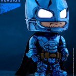 Cosbaby BvS Armored Batman (Blue Chrome Version)