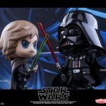 Cosbaby Star Wars - Luke Skywalker & Darth Vader