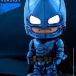 Cosbaby BvS Armored Batman (Blue Chrome Version)