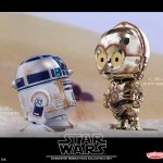 Cosbaby Star Wars - C-3PO & R2-D2 (Dusty Version)