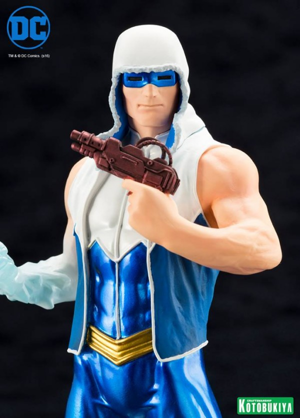DC Comics Captain Cold ARTFX+ Statue.
