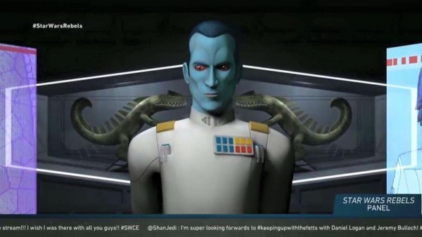 Thrawn - coming to Star Wars Rebels season 3
