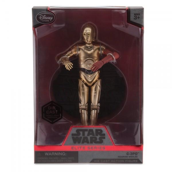 Figurine de C-3PO de 15 cm de la série Elite, Star Wars : Le Réveil de la Force