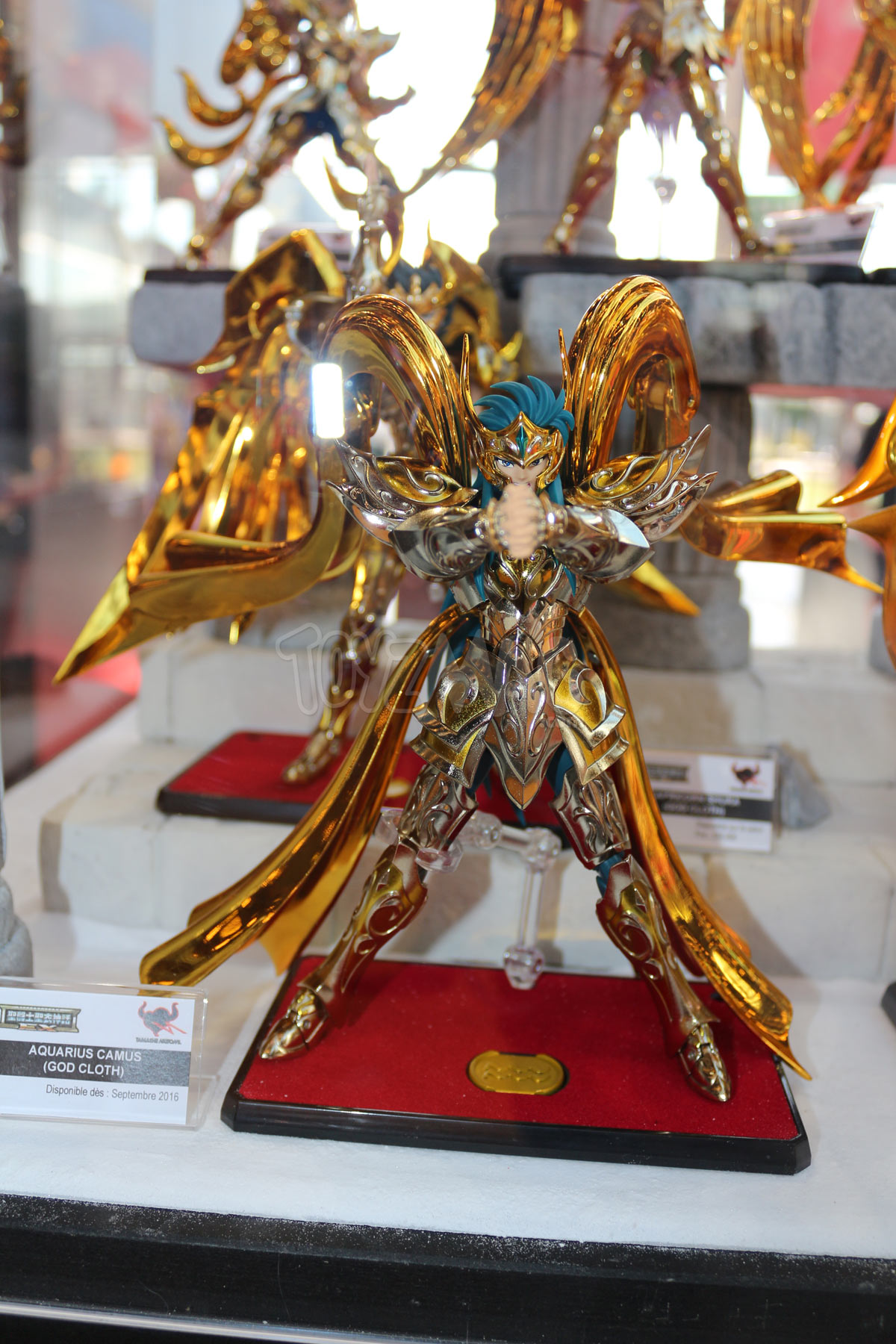 Japanexpo2016 saint seiya myth cloth et mcex stand tamashii nations - Decor saint seiya myth cloth ...