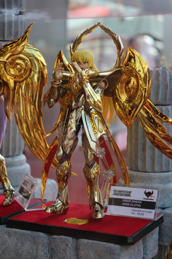 JapanExpo2016 : Saint Seiya Myth Cloth et MCex - Stand Tamashii Nations