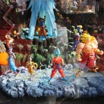 Japan Expo 2016 : vitrine Dragon Ball – Stand Tamashii Nations