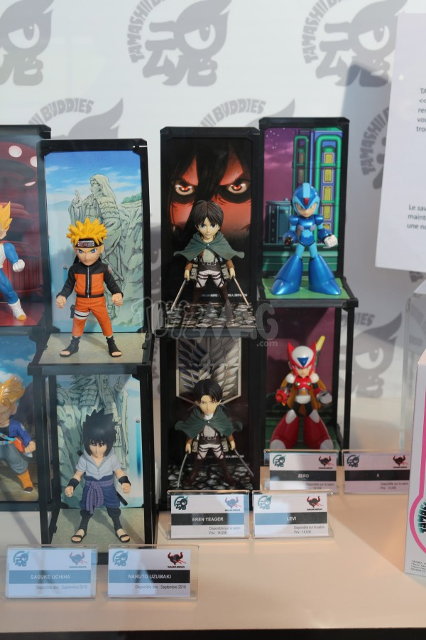 JapanExpo2016 : BUDDIES Tamashii Nations