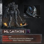 Transformers The Last Knight Megatron est de retour !