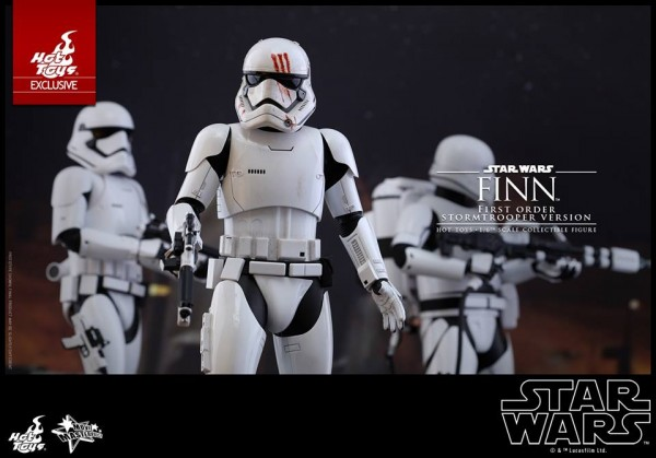 Star Wars: TFA - 1/6th scale Finn (First Order Stormtrooper Ver.).