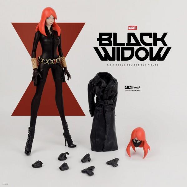Marvel x ThreeA Presents: BLACK WIDOW – 1/6th Scale Collectible Figure