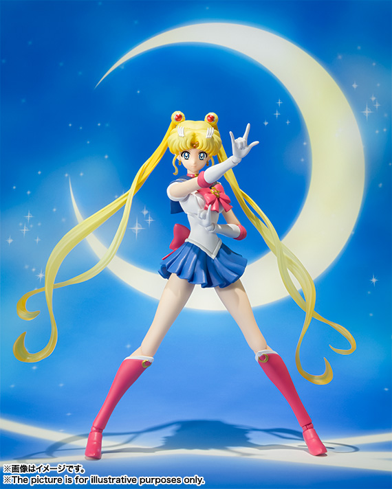 S.H.Figuarts Sailor Moon  - Sailor Moon Crystal