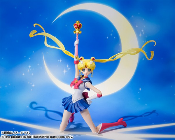 S.H.Figuarts Sailor Moon  - Sailor Moon Crystal