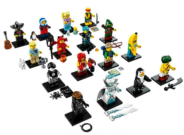 LEGO 71013 Collectible Minifigures Series 16