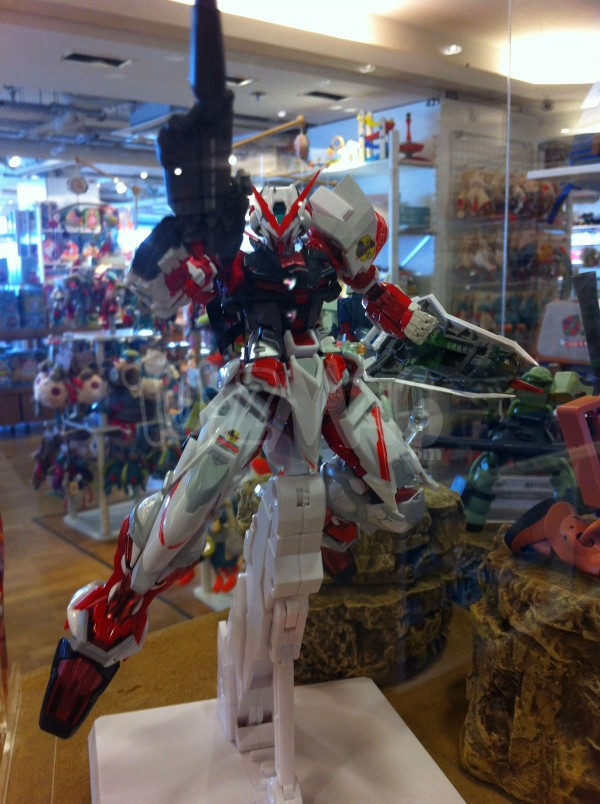 Exposition Tamashii Nations aux Galeries Lafayette Haussmann
