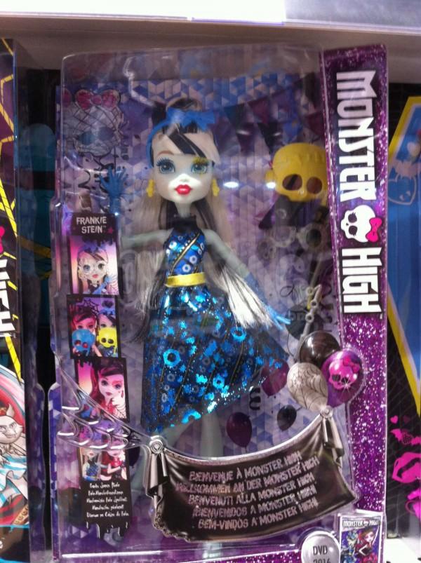 poupée monster high 2016