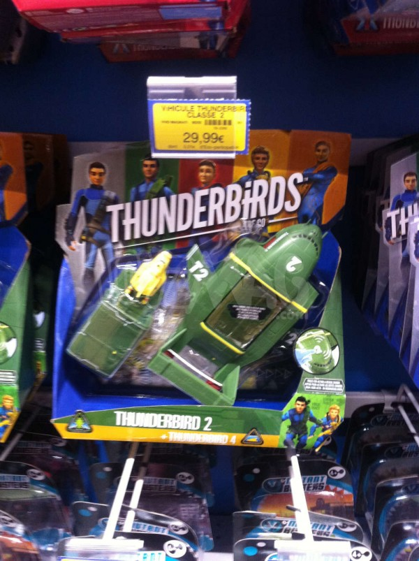 jouets et figurines Thunderbirds Are Go !