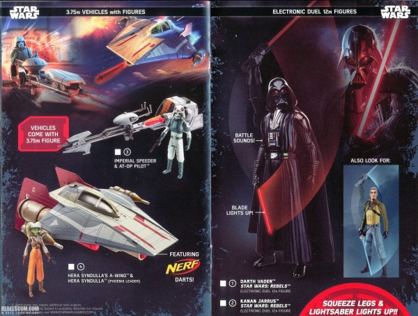 Le catalogue 2016 jouets et figurines Hasbro Star Wars Rogue One