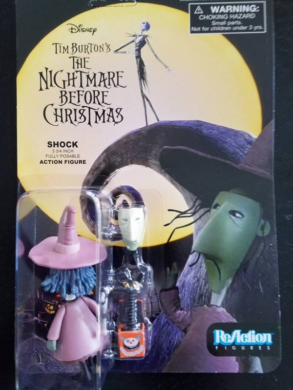 ReAction serie 2 : The Nightmare Befor Chrismas (L'étrange Noël de Monsieur Jack)