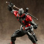 Deadpool « Black Suit » ArtFX+ Statue