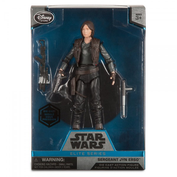 Jyn Erso Star Wars Elite Series (Die-Cast) Rogue One au prix de 25,99€