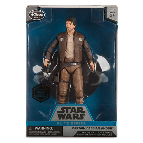 Capitaine Cassian Andor Star Wars Elite Series (Die-Cast) Rogue One au prix de 25,99€