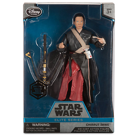 Chirrut Imwe Star Wars Elite Series (Die-Cast) Rogue One au prix de 25,99€