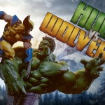 Hulk vs Wolverine Maquette en preview