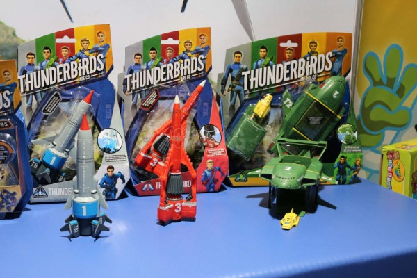 jouets et figurines Thunderbirds are go 2015