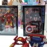 Marvel Legends Captain America et Iron Man 30cm arrivent pour Noël